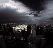 Post-apocolyptic NYC by Steve Berryman