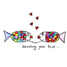 Sending you love... by Marikohandemade