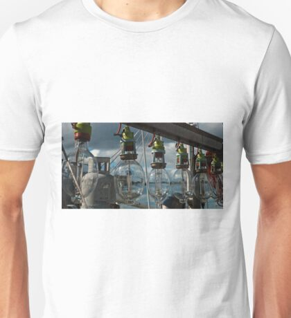 0268 Lamps on a commercial fishing boat T-Shirt