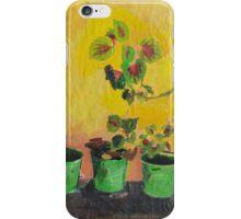 Greece, Flowers iPhone Case/Skin