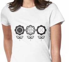 Love Peace Freedom Womens Fitted T-Shirt