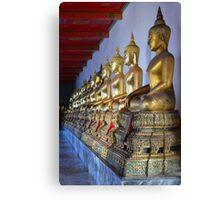 Buddha Statues Canvas Print