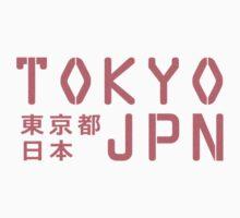 tokyo, japan sign 2 Kids Tee