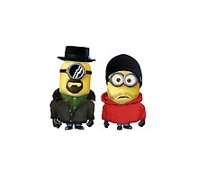 Minions Walter & Jesse Breaking Bad Photographic Print