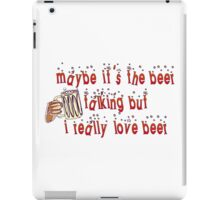 Funny Beer iPad Case/Skin