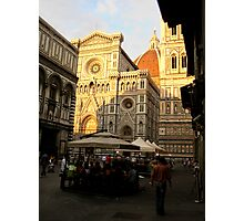 Florence Series #7 - Dom Late Afternoon  Photographic Print