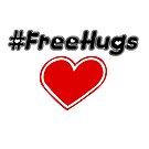Free Hugs (hashtag) by Saing Louis