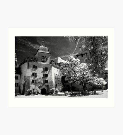 Lenzburg Castle Art Print