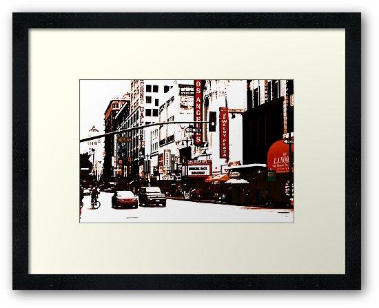 On Broadway (Los Angeles) by Bryan W. Cole