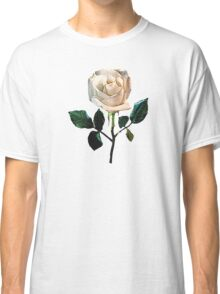Delicate White Rose Classic T-Shirt