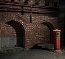 Fort Largs Post Box by Andrew Dempster