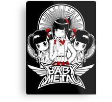 baby metal chibi Metal Print