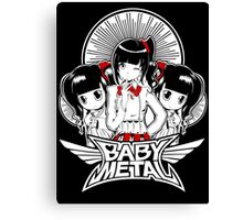 baby metal chibi Canvas Print