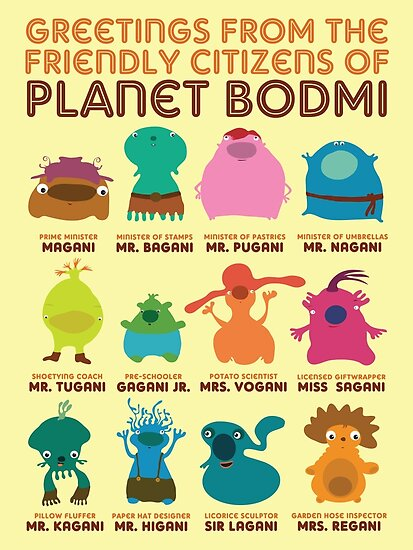 Greetings From Planet Bodmi by Martin Madsen