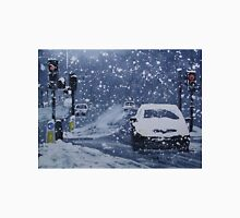 Cars In Snow Unisex T-Shirt