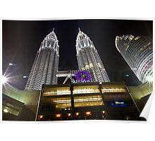 KLCC Suria Petronas Towers Poster