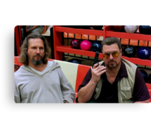 Jeff Bridges and John Goodman @ The Big Lebowski Canvas Print