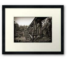 Noojee Trestle Bridge Framed Print