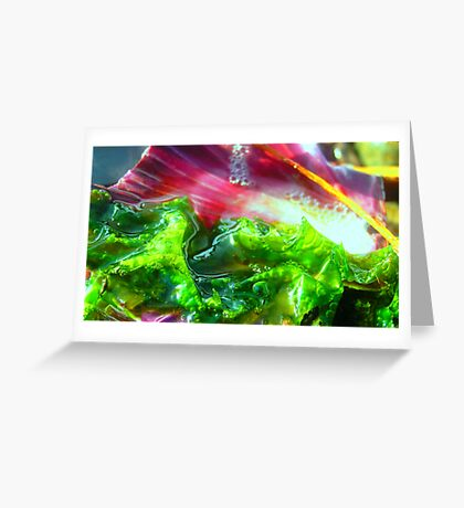 Bubble and Squeak Greeting Card
