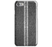 Asphalt Road. iPhone Case/Skin