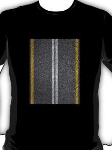 Asphalt Road. T-Shirt