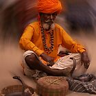 The snake charmer by indiafrank