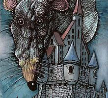 Rat and Blue Castle by Aleksandar Alexov