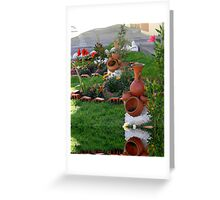 Yard Reflection Greeting Card
