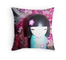 Kimmidoll Hiroko Throw Pillow