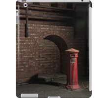 Fort Largs Post Box iPad Case/Skin