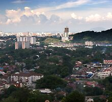 Cityscape of Penang Malaysia by MiImages