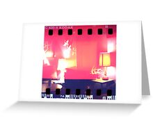 Tickle Me Pink Greeting Card