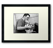 Let Daddy Show You Framed Print