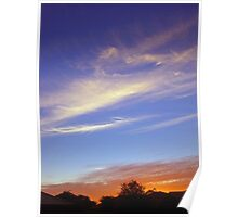 Papanui Skyscape Poster