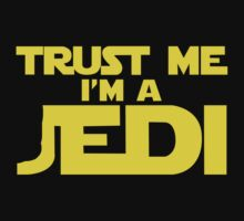 TRUST ME, I'M A JEDI funny geek nerd by norowelang