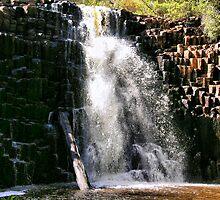 dip falls tasmania by geoffgrattan