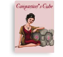 Companion's Cube Canvas Print