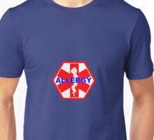 ALLERGY MEDICAL ALERT ID TAG Unisex T-Shirt