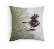 Flight of Rebirth Throw Pillow