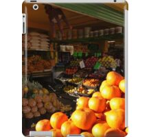 fruits and vegetables - frutas y verduras iPad Case/Skin