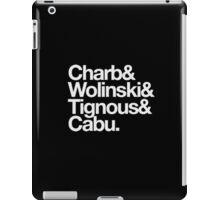 charlie hebdo - #wearecharlie iPad Case/Skin