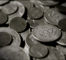 Old Coins by Robert Baker