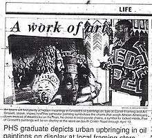 1996 Art Show Article by Lee Grissett