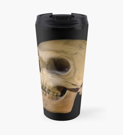 Skulls the Word Travel Mug