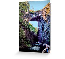 Natural Bridge - Virginia Greeting Card