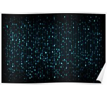 indigo spots Poster