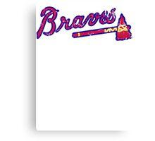 Atlanta Braves Canvas Print