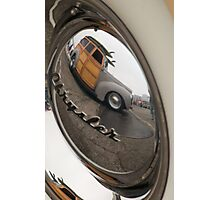 hubcap reflections Photographic Print