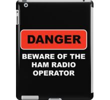 Ham Radio Call Sign iPad Case/Skin