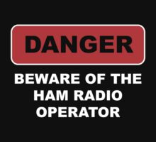Ham Radio Call Sign Baby Tee